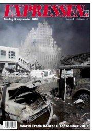 Expressen 12 september 2001