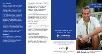 Prostate Gland Disorders - QML Pathology