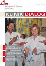 Klinik-Dialog Ausgabe 2/2010 - Caritasklinik St. Theresia