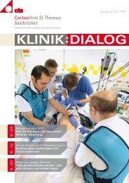 Klinik-Dialog Ausgabe 1/2011 - Caritasklinik St. Theresia