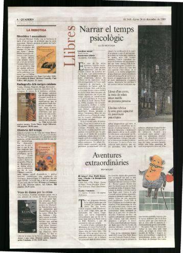 Narrar el temps psicològic - Ara Llibres