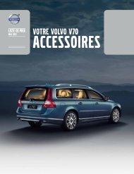 la brochure Accessoires V70. - ESD - Volvo