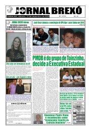 PMDB é do grupo de Toinzinho, decide a Executiva ... - Jornal Brexó