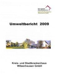 Umweltbericht 2009 - Stadtkrankenhaus Witzenhausen GmbH