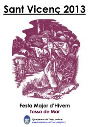 Festa Major d'Hivern Tossa de Mar Sant Vicenç 2013