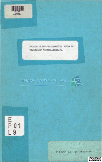 E P01 L8.pdf - Biblioteca de la ANA.