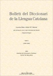 BDLC II - Institut d'Estudis Catalans