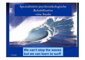 Spezialisierte psychoonkologische Rehabilitation