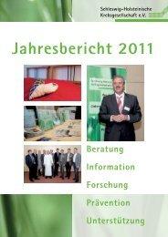 S-H Krebsgesellschaft Jahresbericht 2011 Seite 1 - Schleswig ...