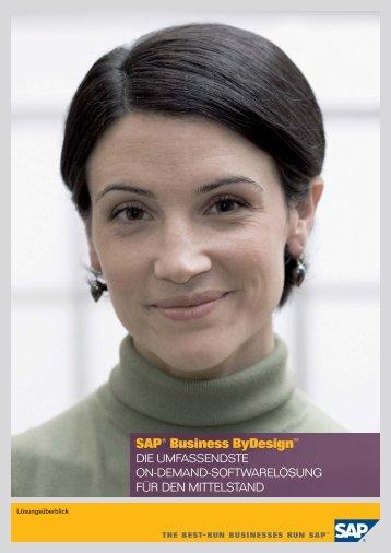SAP® Business ByDesign™ - Swisscom Finance