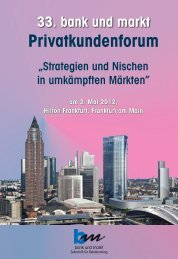 Privatkundenforum - Fritz Knapp Verlag GmbH und Verlag Helmut ...