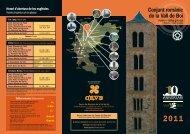 horaris i visites guiades 2011 - Ajuntament de la Vall de Boí