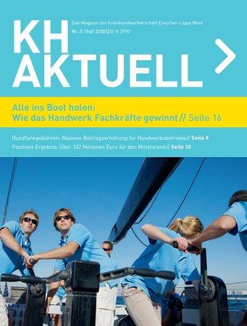 Alle ins Boot holen: Wie das Handwerk Fachkräfte gewinnt // Seite 16