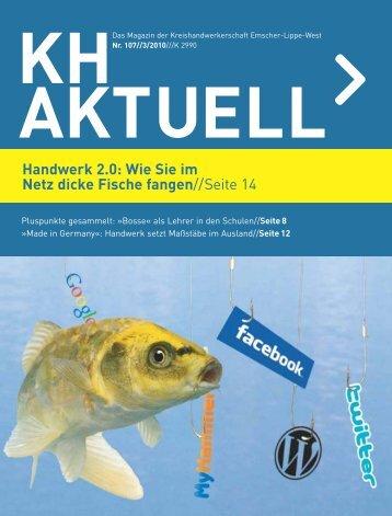 Das Magazin der Kreishandwerkerschaft Emscher-Lippe-West