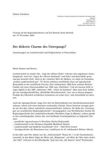 Der diskrete Charme des Untergangs? - Kreisheimatverein Herford ...