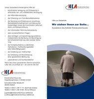 Sozialdienst - Wir stehen Ihnen zur Seite! - Kreiskrankenhaus Alsfeld