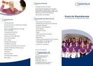 Ambulante Physiotherapie - Kreiskrankenhaus Alsfeld