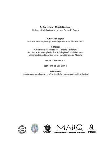 09-0851 Puríssima \(Benissa\) Vidal Bertomeu - Marq