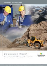 Unternehmensgruppe Heidemann Unternehmensborschüren als PDF