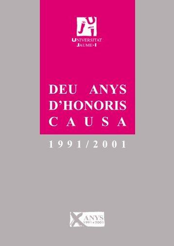 Llibre Deu anys d'Honoris Causa. 1991-2001.pdf - Repositori UJI