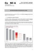 resum informe anual de la cultura 2012 - CoNCA Consell Nacional ... - Page 2