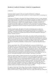 Nota da Reunião da CO.UA - IICT