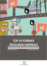 top_10_formas_procurar_emprego - Conseguir Emprego
