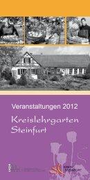 Kreislehrgarten Steinfurt - Kreis Steinfurt