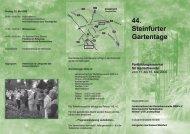 44. Steinfurter Gartentage - Kreis Steinfurt