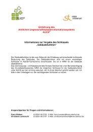 Informationen zur Vergabe des Schlüssels - Kreis Steinfurt