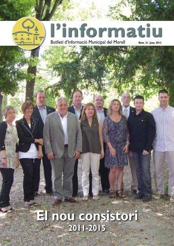 Informatiu num 21.pdf - Ajuntament de El Morell