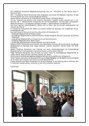 Die diesjährige Kreuzbund–Mitgliederversammlung fand am 18.04 ...