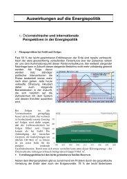 Energiesparpolitik