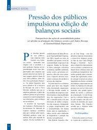 Balanço social - Aberje