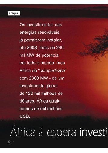 África à espera investimento - ecreee