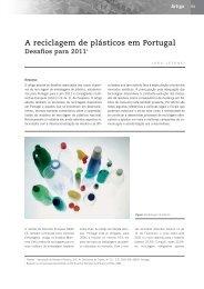 A reciclagem de plásticos em Portugal. Desafios para 2011