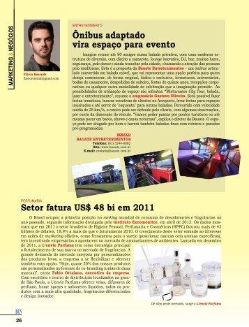 Outras Publicações - Marketing & Negócios - Julho de 2012