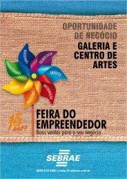 GALERIA E CENTRO DE ARTES - Sebrae