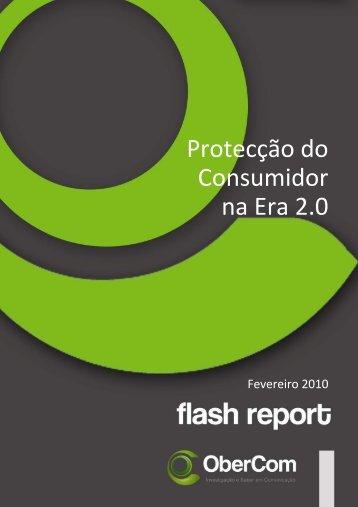 Protecção do Consumidor na Era 2.0 - OberCom