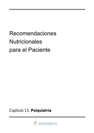 Recomendaciones paciente psiquiatría - infogerontologia.com