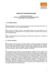 Allgemeine Vertragsbedingungen - Kruck + Partner