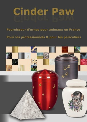 Catalogue Urnes Animaux Part