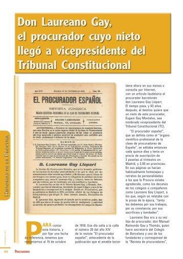 Historias de la Procura - Consejo General de Procuradores de España