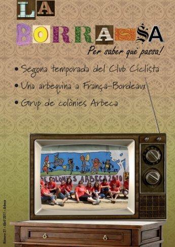 Núm 21 - Abril 2011 - Ajuntament d'Arbeca