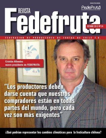 """REVISTA """"Los productores deben darse cuenta que ... - Fedefruta"""