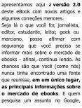 O mercado de eBooks no Brasil - Kulturklik - Page 6