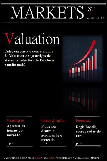 p. 6 p. 9 p. 12 - Liga de Mercado Financeiro FEA-USP