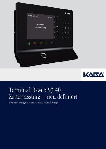 Kaba B Web 9340