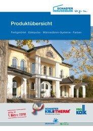 Produktübersicht - SCHAEFER KRUSEMARK