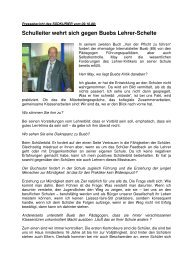Schulleiter wehrt sich gegen Buebs Lehrer-Schelte - Kaufmännische ...